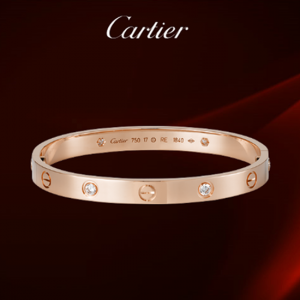 High-end-replica-Cartier-love-bracelet-rose-gold