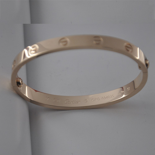 Replique cartier love bracelet or rose plaqué